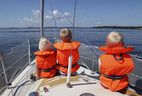 Safety on a Charter Sailing Yacht